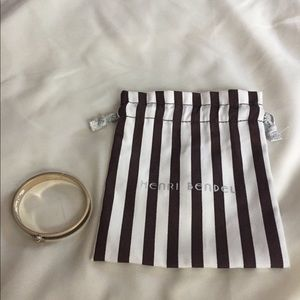Henri Bendel hinged bangle